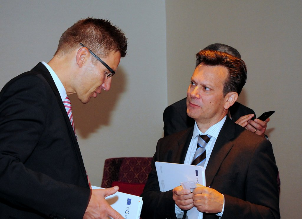 Stefan Appel and Frank Lee