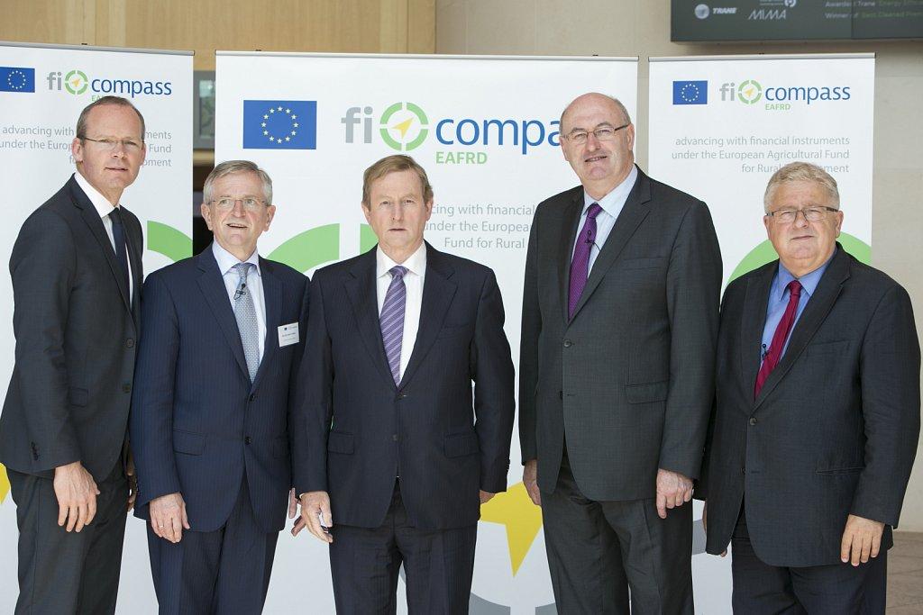 Simon Coveney T.D., Wilhelm Molterer, Enda Kenny T.D., Phil Hogan, Czesław Adam Siekierski