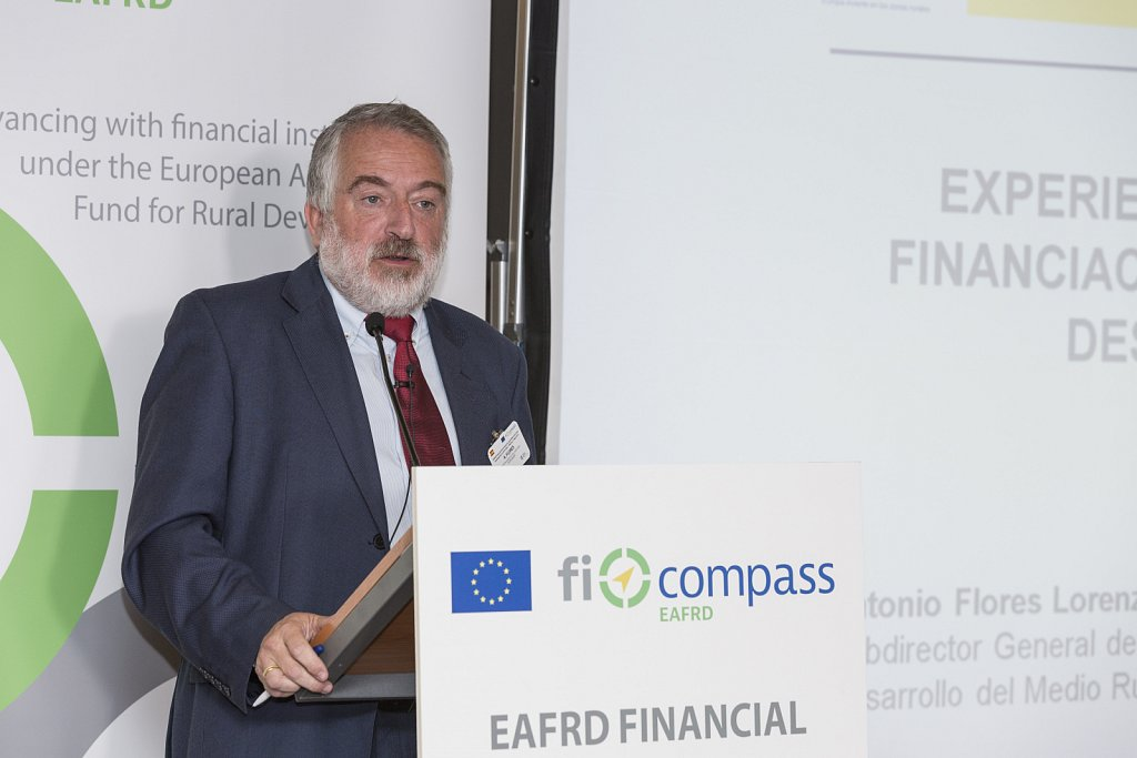EAFRD financial instruments for agriculture and rural development in 2014-2020, Madrid, 31 May 2016