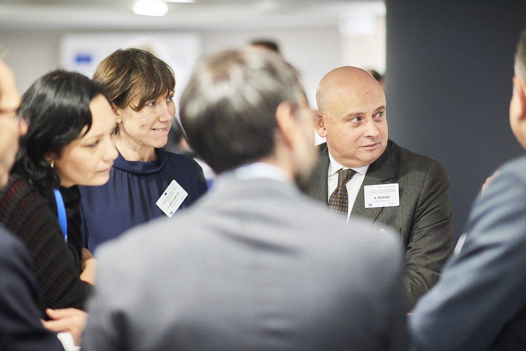 Ms Anna Zurek, Mr Bruno Robino and event participants