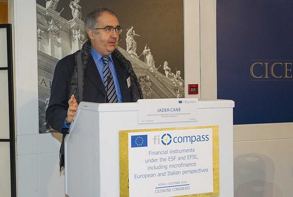 Financial instruments under the ESF and EFSI, including microfinance – European and Italian perspectives, Rome, Italy, 1 December 2016