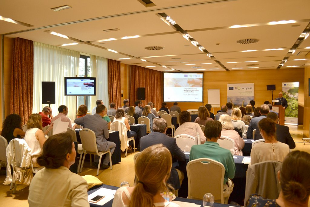 Targeted coaching workshop for the EAFRD managing authority in Andalucía, Seville, 23 October 2017