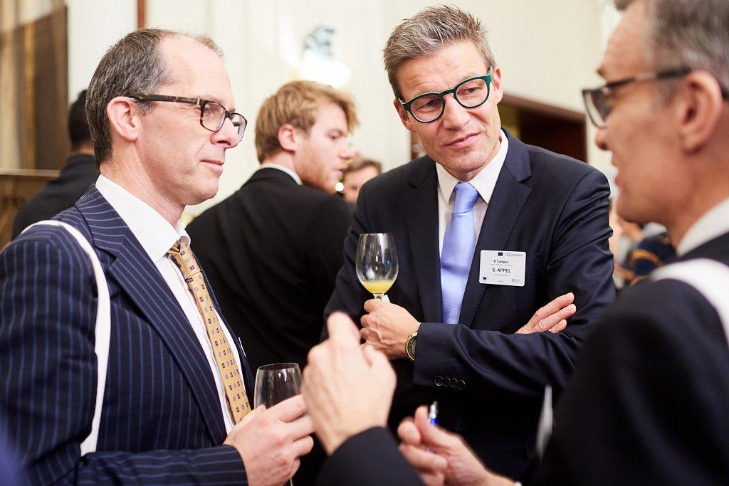 Mr Stefan Appel and event participants