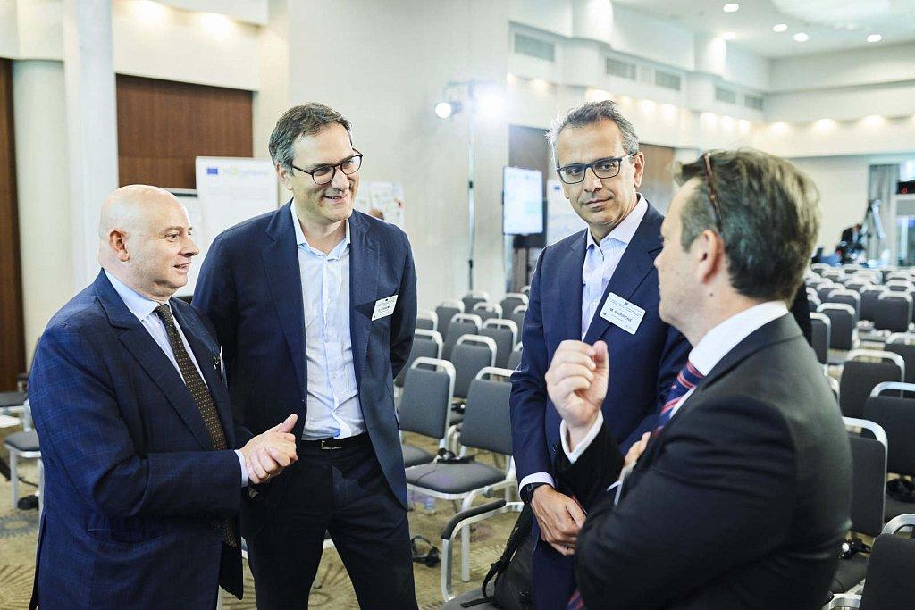 Mr Bruno Rubino, Mr Frank Lee and event participants
