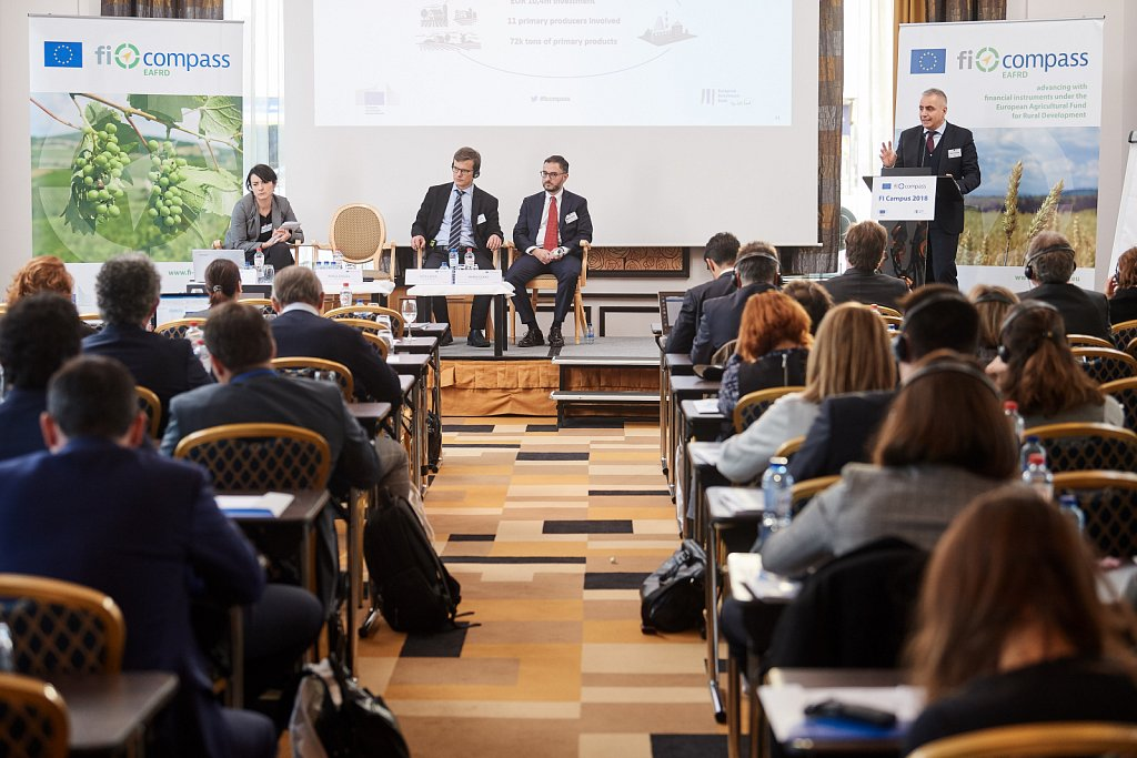 Case study presentation: EAFRD combination of support – Grants and financial instruments (Lombardy)