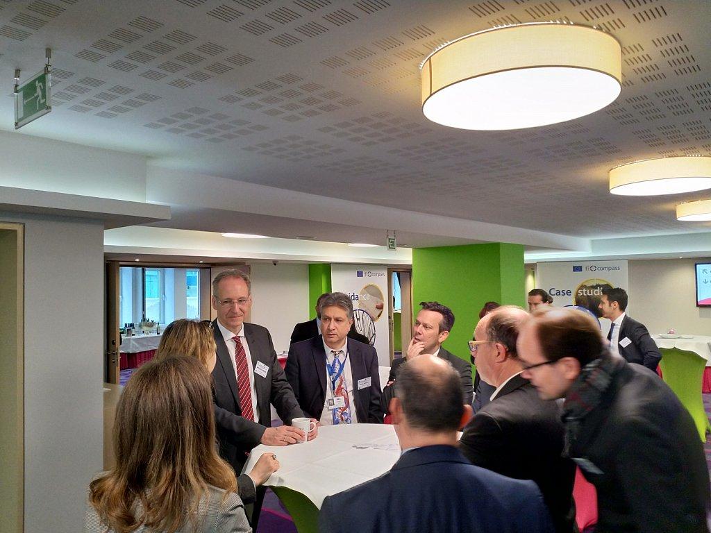 Mr Michael Pielke, Mr Nivelin Noev, Mr Frank Lee and event participants
