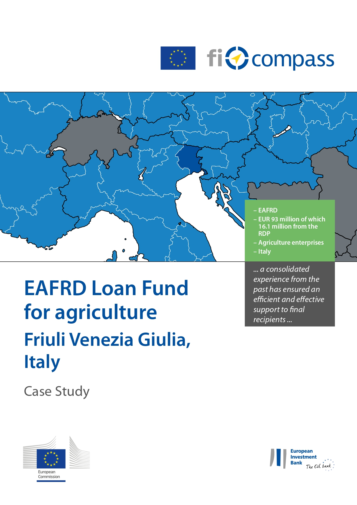 eafrd loan fund for agriculture friuli venezia giulia italy