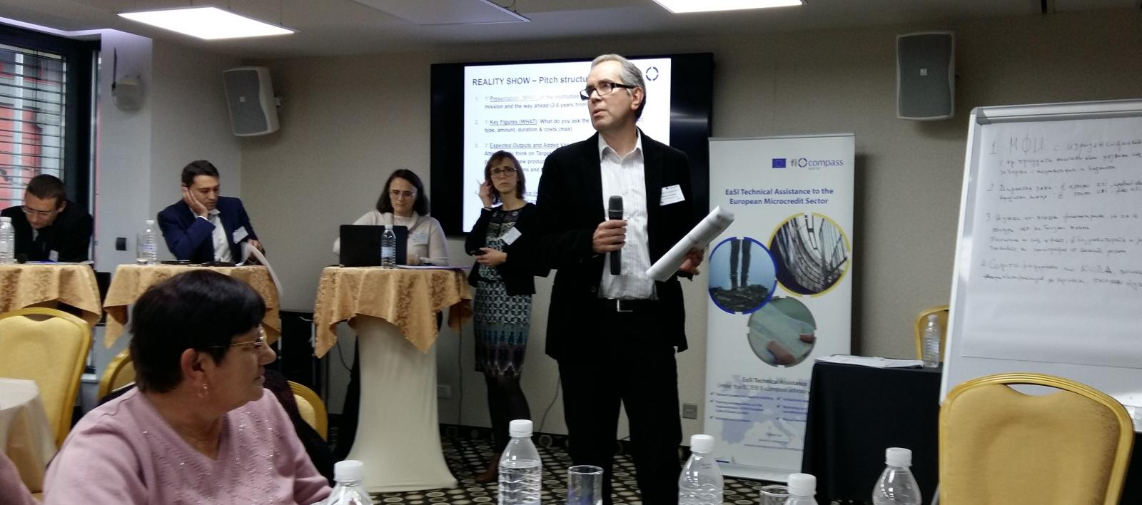 First EaSI TA workshop on EU Instruments for microfinance in Sofia, Bulgaria: November 10 2016