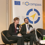 Hanna Dudka and Robert Pernetta, European Commission (DG REGIO)